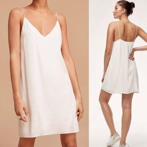 Aritzia / Wilfred Free Vivienne dress in white